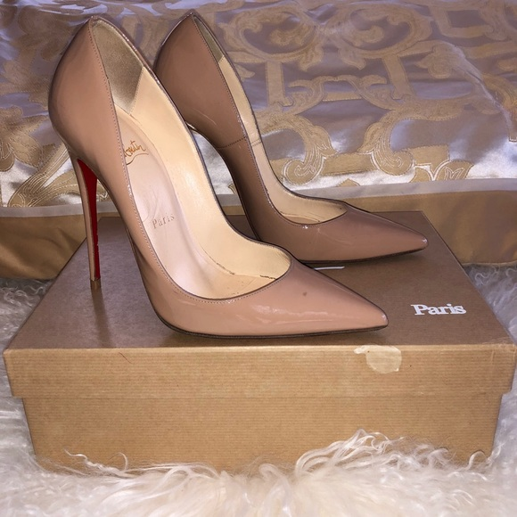 e922efe5363f Christian Louboutin Shoes - Christian Louboutin So Kate 120 mm Nude 37